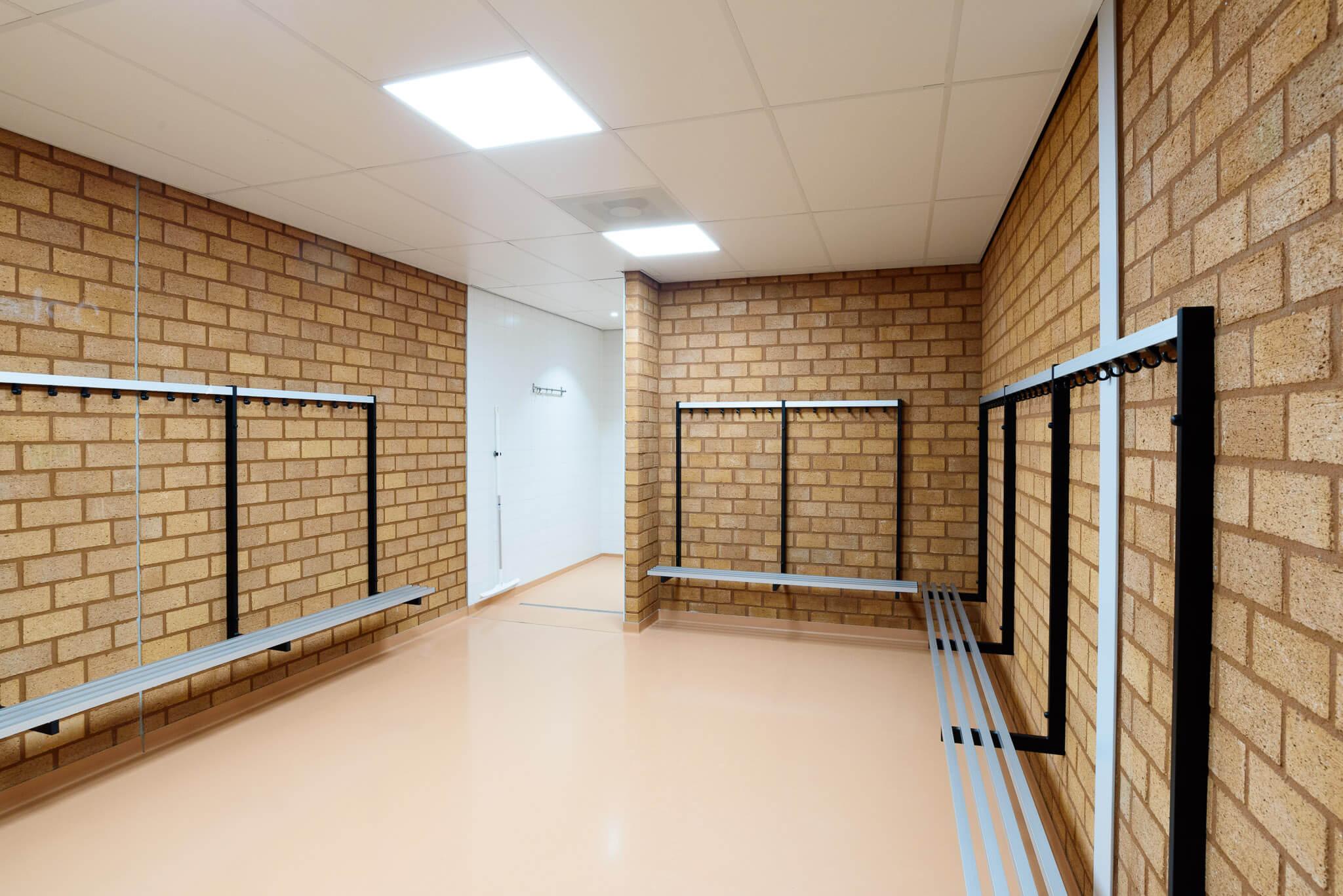 Sporthal 1 kleedkamer